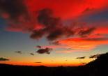 Paisatge i meteorologia de novembre al Ripollès Albada de foc a Ripoll (11 de novembre). Foto: Antonina Coromina