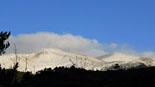 Paisatge i meteorologia de novembre al Ripollès El Puigmal nevat i ventat (15 de novembre). Foto: Josep Manuel Mercader/Meteoribes