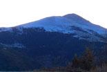 Paisatge i meteorologia de novembre al Ripollès El Taga nevat, des de Sant Antoni (15 de novembre). Foto: Antonina Coromina