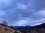 Paisatge i meteorologia de novembre al Ripollès El Taga nevat, des de Planoles (24 de novembre). Foto: Jordi Campos