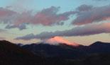 Paisatge i meteorologia de novembre al Ripollès El Taga, el Mont Fuji del Ripollès? (24 de novembre). Foto: Jordi Campos