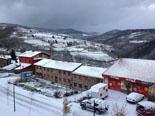 Paisatge i meteorologia de novembre al Ripollès Molló, després de la nevada (30 de novembre). Foto: Pep Coma