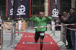 I Trail Terra de Comtes i Abats (sortida) Jordi Gamito, guanyador de la Trail Terra de Comtes (32 km). Foto: Arnau Urgell