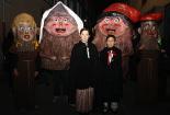 Cercavila de tions i encesa dels llums de Nadal a Ripoll