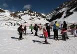 Paisatge i meteorologia de desembre al Ripollès Vall de Núria ple d'esquiadors (7 de desembre). Foto: Vall de Núria