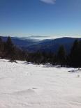 Paisatge i meteorologia de desembre al Ripollès Vista des del collet de les Barraques (8 de desembre). Foto: Jordi Campos