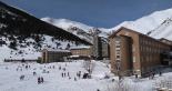 Paisatge i meteorologia de desembre al Ripollès Vall de Núria ple d'esquiadors (8 de desembre). Foto: Vall de Núria