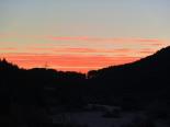 Paisatge i meteorologia de desembre al Ripollès Albada a l'entorn de Ripoll (10 de desembre). Foto: Antonina Coromina