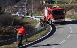 El 2013, en 115 fotografies Petit incendi a Vistalegre de Ripoll (3 de febrer). Foto: Arnau Urgell
