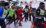 El 2013, en 115 fotografies Prova de la Copa d'Europa de Raquetes de Neu a Núria (25 de febrer). Foto: Vall de Núria