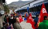 El 2013, en 115 fotografies Vaga al cremallera de Núria (29 de març). Foto: Arnau Urgell