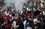 El 2013, en 115 fotografies Ripoll va acollir la Trobada Nacional de Trabucaires (21 d'abril). Foto: Arnau Urgell