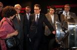 El 2013, en 115 fotografies El president Artur Mas a la inauguració de l'exposició sobre Ramon Casanova a Barcelona (14 de maig). Foto: Govern