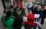 El 2013, en 115 fotografies Concentració per aturar un desnonament a Sant Pau de Segúries (24 de maig). Foto: Arnau Urgell