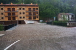 El 2013, en 115 fotografies Espectacular tempesta a Ribes de Freser, 64 litres en 45 minuts (6 de juny). Foto: Laia Deler
