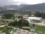 El 2013, en 115 fotografies Forta pedregada a Matamala (1 de juliol). Foto: Marina Puigcorbé