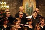 El 2013, en 115 fotografies La Coral Capella de Santa Maria celebra el 120è aniversari amb un concert al Monestir de Ripoll (7 de juliol). Foto: Arnau Urgell