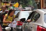 El 2013, en 115 fotografies La Marxa per l'Educació Pública comença a Ribes de Freser (24 d'agost). Foto: Nerea Guisasola