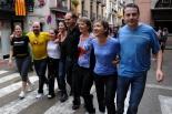El 2013, en 115 fotografies L'equip de govern de Sant Joan ben remullat a la Bogeria (11 de setembre). Foto: Marc Cargol