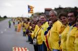 El 2013, en 115 fotografies La Via Catalana, la mobilització més gran de la història del país (11 de setembre). Foto: Sergi Colomé