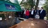 El 2013, en 115 fotografies Inauguració oficial de la xarxa de biomassa de Ribes de Freser amb el conseller Pelegrí (5 d'octubre). Foto: Pere Duran/Diputació de Girona
