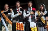 El 2013, en 115 fotografies Ripoll va proclamar la nova pubilla i hereu de Catalunya (6 d'octubre). Foto: Rastres (Gerard Garcia i Raül Duque)