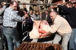 El 2013, en 115 fotografies Esmorzar de matança a la Festa Major de Santa Cecília a Molló (24 de novembre). Foto: Foto: Marcel Urgel