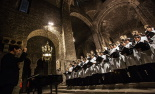 El 2013, en 115 fotografies Un concert de l'Escolania de Montserrat tanca Ripoll 2013 (29 de novembre). Foto: Adrià Costa