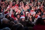 El 2013, en 115 fotografies Flaixmob a la Fira de Nadal de Campdevànol (6 de desembre). Foto: Adrià Costa
