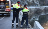 El 2013, en 115 fotografies Un tràgic accident causa la mort de quatre persones d'una mateixa família a la Farga de Bebié (14 de desembre). Foto: Arnau Urgell