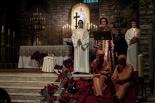 El 2013, en 115 fotografies El Cant de la Sibil·la, al Monestir de Ripoll (24 de desembre). Foto: Rastres (Gerard Garcia i Raül Duque)