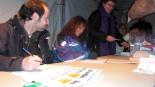 El 13-D en imatges Recompte de vots a Ribes. Foto: Laia Deler