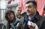 El 13-D en imatges Joan Puigcercós va donar suport a la consulta però no podia votar. Foto: Arnau Urgell
