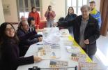 El 13-D en imatges Vallfogona va registrar la participació més elevada. Foto: Arnau Urgell