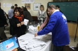 El 13-D en imatges Recompte de vots a Ripoll. Foto: Arnau Urgell