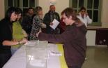 El 13-D en imatges Vot anticipat a Vallfogona. Foto: Guillem Casals