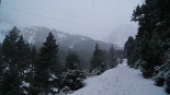 Paisatge i meteorologia de gener al Ripollès Nevada a l'entorn de Vallter (4 de gener). Foto: Robert Blasco