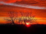 Paisatge i meteorologia de gener al Ripollès Sortida de sol des de serra Cavallera (5 de gener). Foto: Antonina Coromina