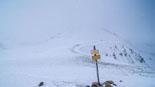 Paisatge i meteorologia de gener al Ripollès El coll de la Marrana sota un torb intens (5 de gener). Foto: Robert Blasco
