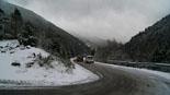 Paisatge i meteorologia de gener al Ripollès Neu a la carretera de Vallter (18 de gener). Foto: Robert Blasco