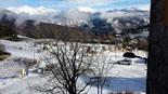 Paisatge i meteorologia de gener al Ripollès Enfarinada a Campelles (19 de gener). Foto: Sílvia Gallart