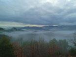 Paisatge i meteorologia de gener al Ripollès Mar de núvols al Baix Ripollès (19 de gener). Foto: Antonina Coromina