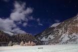 Paisatge i meteorologia de gener al Ripollès Nit del Papu a Vall de Núria (18 de gener). Foto: Jordi Romero
