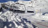 Paisatge i meteorologia de gener al Ripollès A Vallter s'han acumulat uns 30 cm de neu nova (19 de gener). Foto: Quim Argemí