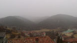 Paisatge i meteorologia de gener al Ripollès Volves caient a Gombrèn (22 de gener). Foto: Hermenegild Falguera
