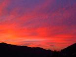 Paisatge i meteorologia de gener al Ripollès Albada a Ripoll (22 de gener). Foto: Antonina Coromina