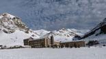 Paisatge i meteorologia de gener al Ripollès Vall de Núria ben nevat (26 de gener). Foto: Vall de Núria