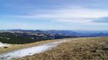 Paisatge i meteorologia de gener al Ripollès Vistes des del cim del puig del Bac de Setcases (26 de gener). Foto: Robert Blasco