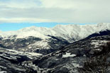 Paisatge i meteorologia de gener al Ripollès La Vall de Camprodon enfarinada des de Sant Antoni (30 de gener). Foto: Josep Soldevila