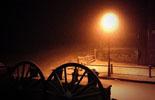 Paisatge i meteorologia de gener al Ripollès Nevant amb ganes a Molló (29 de gener). Foto: Núria Mayà